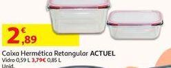 Oferta de Caixa hermética retangular Actuel por 2,89€