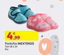 Oferta de Pantufas Inextenso por 4,99€
