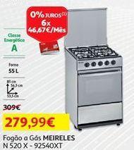 Oferta de Fogão a gás Meireles por 279,99€