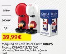 Oferta de Cafeteira Krups por 39,99€