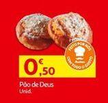 Oferta de Pão por 0,5€