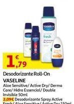 Oferta de Desodorante Vaseline por 1,79€
