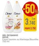 Oferta de Gel de banho Dove por 3,74€