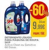 Oferta de Detergente líquido Skip por 9,99€