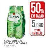 Oferta de Água com gás Pedras Salgadas por 2,94€