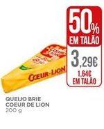 Oferta de Queijo brie Coeur de Lion por 1,64€