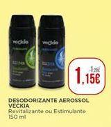 Oferta de Desodorizante aerossol Veckia por 1,15€