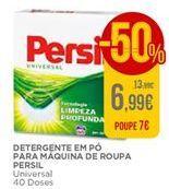 Oferta de Detergente em pó Persil por 6,99€