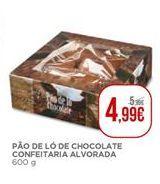 Oferta de Pão de ló de chocolate confeitaria Alvorada por 4,99€