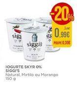 Oferta de Iogurte Skyr Siggi's por 0,99€