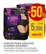 Oferta de Cuecas para adultos Ausonia Discreet por 5,99€