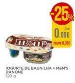 Oferta de Iogurte de baunilha M&M's por 0,99€