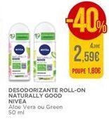 Oferta de Desodorizante roll-on Nivea por 2,59€