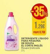 Oferta de Detergente líquido para máquina de roupa El Corte Inglés por 1,29€