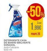 Oferta de Detergente casa de banho brilhante Sonasol por 1,99€