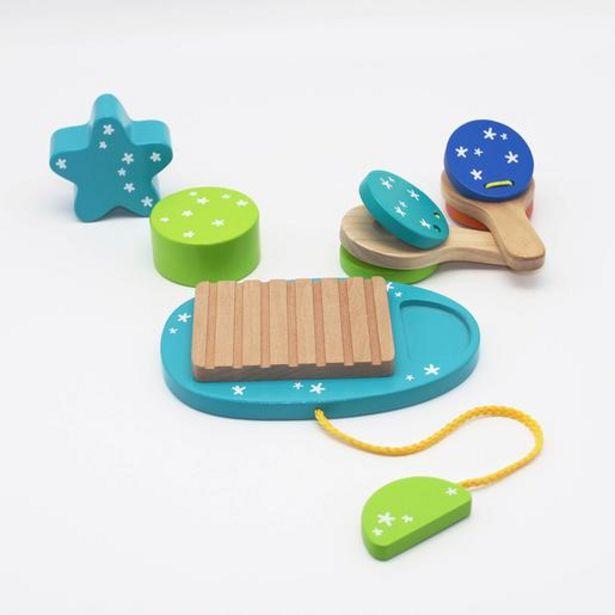 Oferta de Universe of Imagination - Instrumento Musical de Madeira (vários modelos) por 6,99€