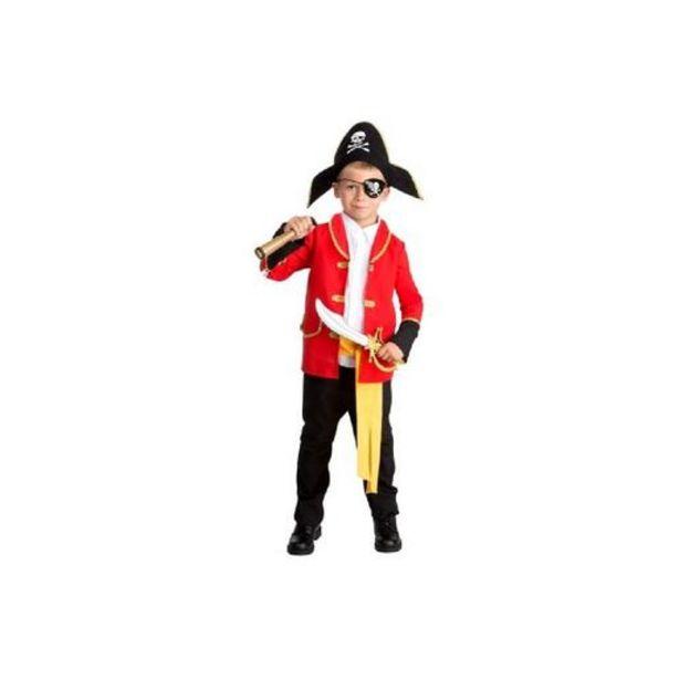 Oferta de Cosplay Creation - Disfarce infantil - Pirata com acessórios 5-7 anos por 14,99€