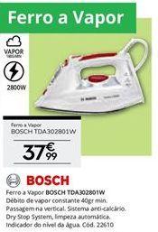 Oferta de Ferro de engomar Bosch por 37,99€