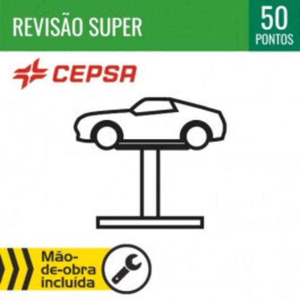 Oferta de REVISÃO SUPER + ÓLEO CEPSA 10W40 por 70€