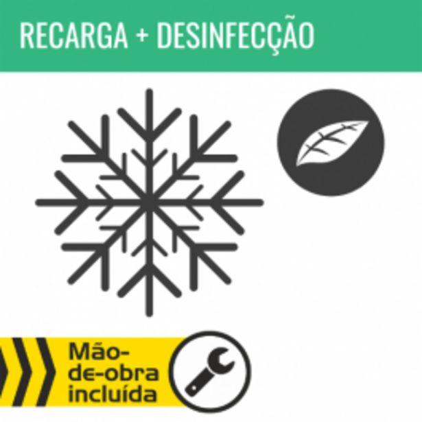 Oferta de RECARGA DE AR CONDICIONADO R134A + DESINFECÇÃO DO HABITÁCULO por 68,95€