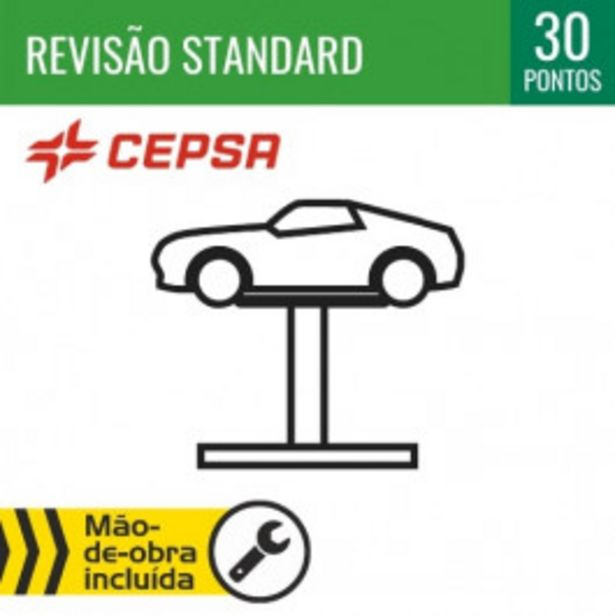 Oferta de REVISÃO STANDARD + ÓLEO CEPSA 10W40 por 50€
