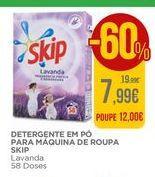 Oferta de Detergente em pó Skip por 7,99€