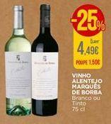 Oferta de Vinho Marqués de Borba por 4,49€
