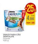 Oferta de Snack para câo Dentalife por 4,59€