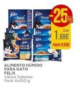 Oferta de Ração para gatos Felix por 1,69€