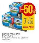 Oferta de Snack para cão Dentalife por 7,95€