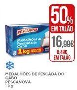 Oferta de Medalhoes de pescada Pescanova por 8,49€