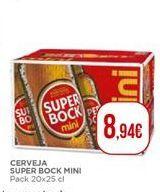 Oferta de Cerveja Super Bock por 8,94€