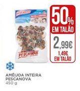 Oferta de Ameijoa inteira Pescanova por 1,49€