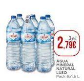 Oferta de Água Luso por 2,79€