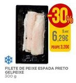 Oferta de Filete de peixe espada preto Gelpeixe por 6,29€