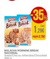 Oferta de Bolacha morning break Nacional por 1,29€