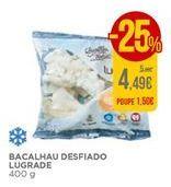 Oferta de Bacalhau desfiado Lugrade por 5,49€