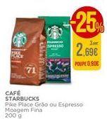 Oferta de Café Starbucks por 2,69€