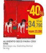 Oferta de Ração para cães Purina one por 34,79€