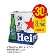 Oferta de Cerveja Heineken por 3,75€