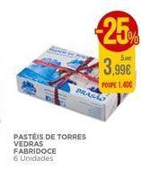 Oferta de Pastéis de torres Vedras Fabridoce por 3,99€