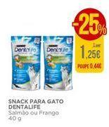Oferta de Snack para gato Dentalife por 1,25€