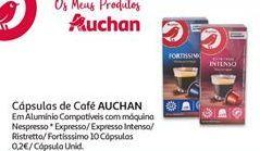 Oferta de Cápsulas de café Auchan por 2€