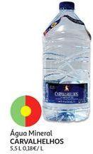 Oferta de Água mineral Carvalhelhos por 1€