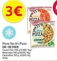 Oferta de Pizza congelada Dr. Oetker por 3€