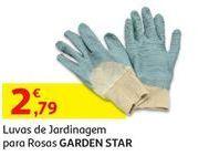Oferta de Luvas de jardinagem para rosas Garden Star por 2,79€