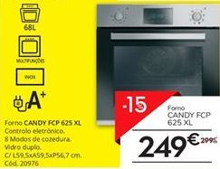 Oferta de Forno Candy por 249€