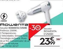 Oferta de Secador Rowenta por 23,99€