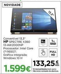 Oferta de Computador portátil HP por 1599€