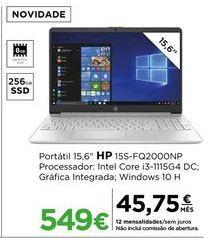 Oferta de Computador portátil HP por 549€
